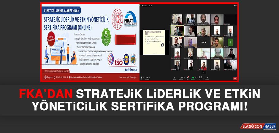 FKA'dan Stratejik Liderlik ve Etkin Yöneticilik Sertifika Programı