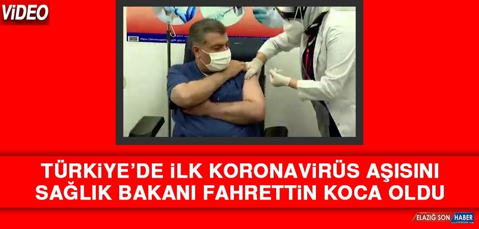 İlk Koronavirüs Aşısını Sağlık Bakanı Fahrettin Koca Oldu!
