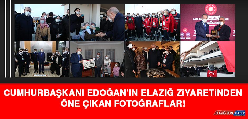 İşte Cumhurbaşkanı Recep Tayyip Erdoğan'ın Elazığ Ziyaretinden Öne Çıkan Fotoğraflar