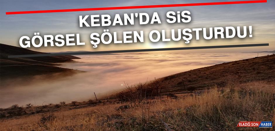 Keban'da Sis Görsel Şölen Oluşturdu