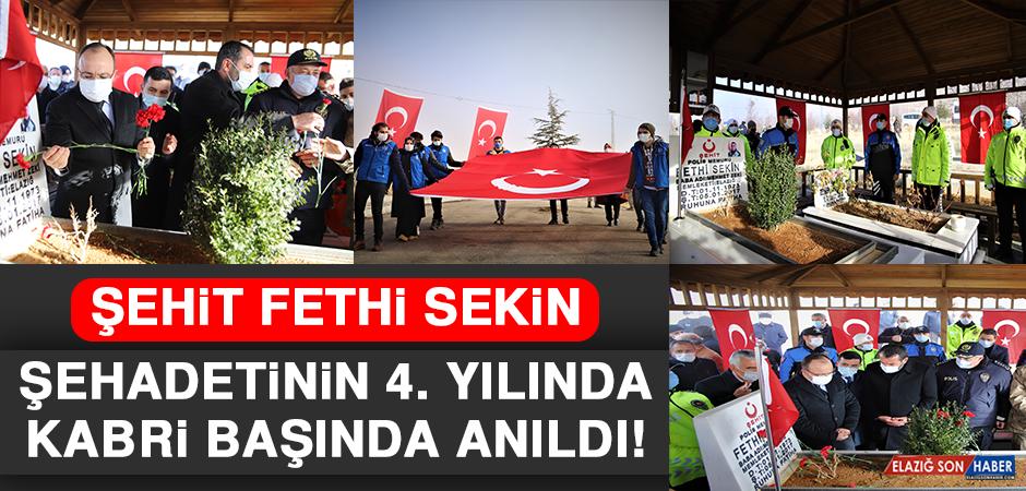 Şehit Fethi Sekin, Şehadetinin 4. Yılında Kabri Başında Anıldı
