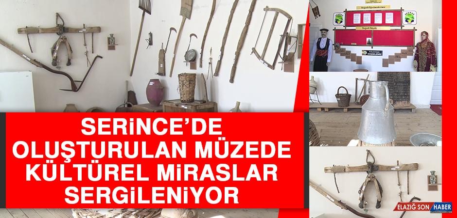 Serince'de Oluşturulan Müzede Kültürel Miraslar Sergileniyor