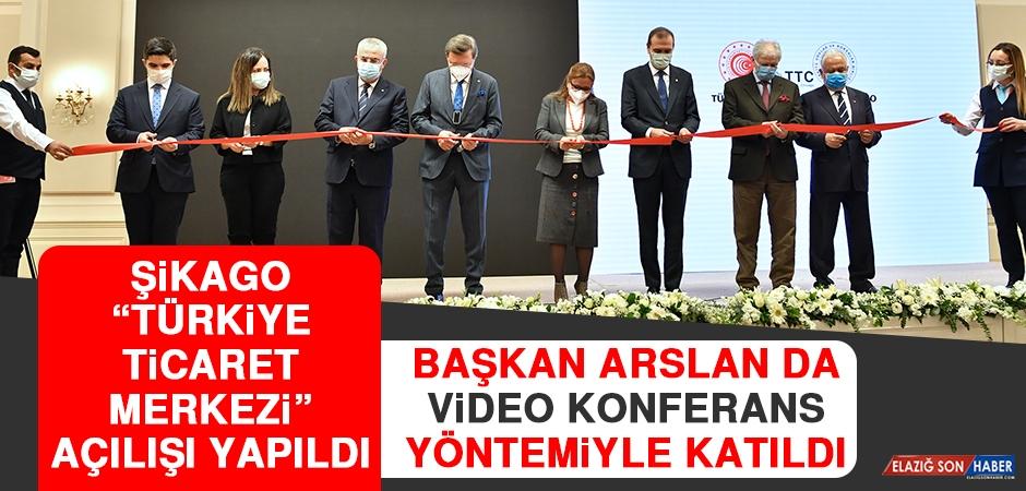 """Şikago """"Türkiye Ticaret Merkezi"""" Açılışı Yapıldı"""