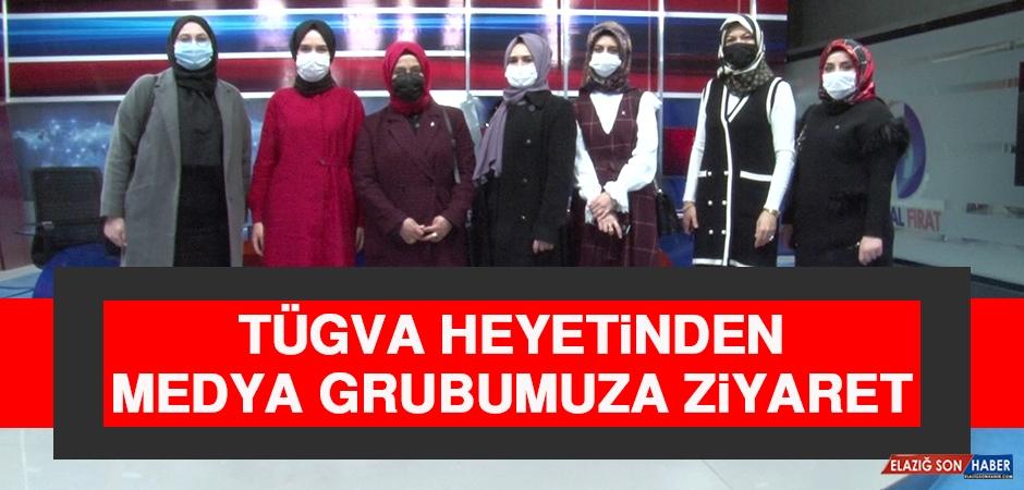 TÜGVA Heyetinden Medya Grubumuza Ziyaret