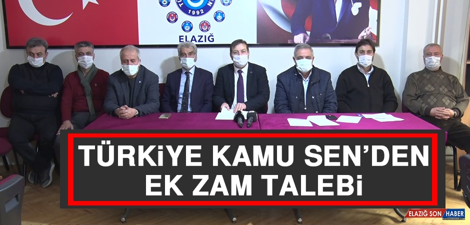 Türkiye Kamu Sen'den Ek Zam Talebi
