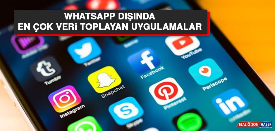WhatsApp Dışında, En Çok Veri Toplayan Uygulamalar