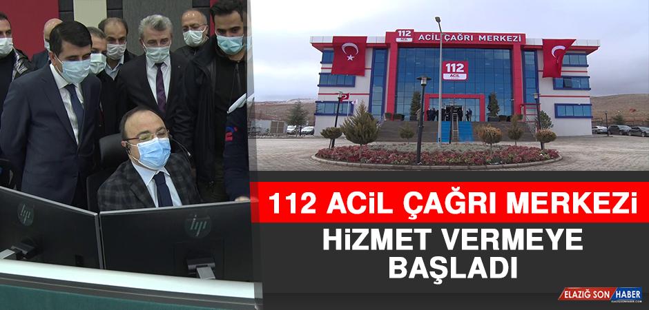 112 Acil Çağrı Merkezi Hizmet Vermeye Başladı