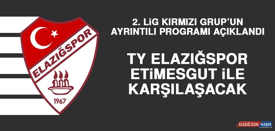 2. Lig Kırmızı Grup'un Ayrıntılı Programı Açıklandı