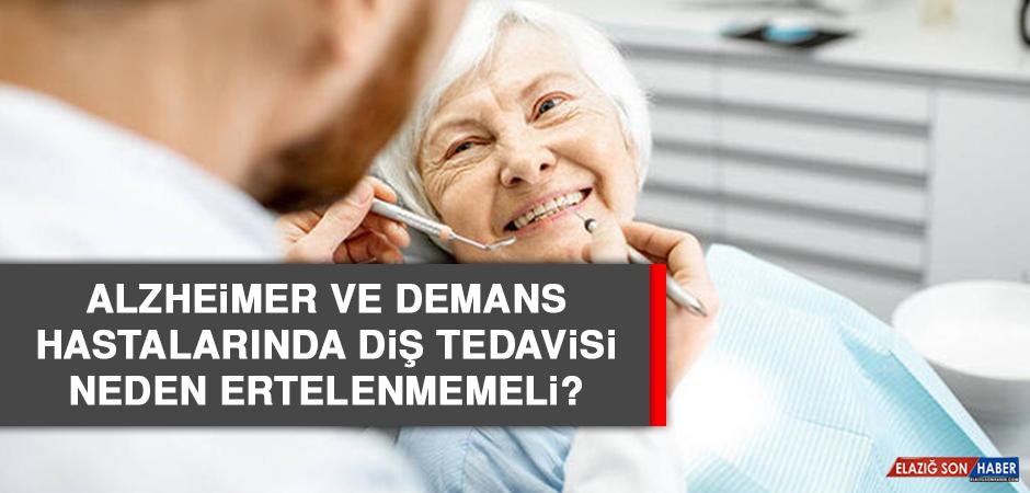 Alzheimer ve demans hastalarında diş tedavisi neden ertelenmemeli?
