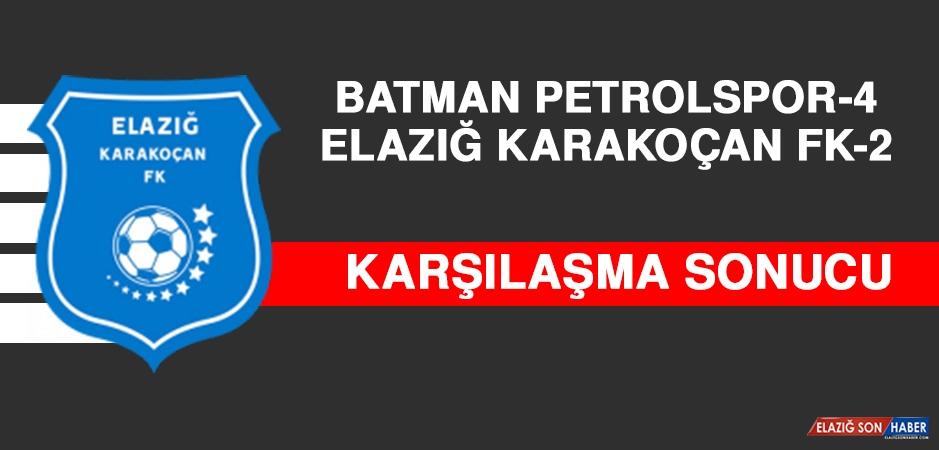 Batman Petrolspor 4 - 2 Elazığ Karakoçan FK