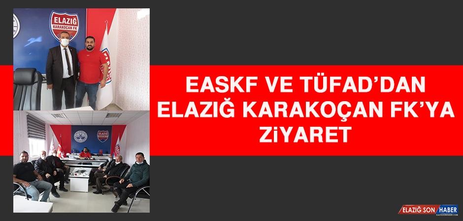 EASKF ve TÜFAD'dan Elazığ Karakoçan FK'ya Ziyaret