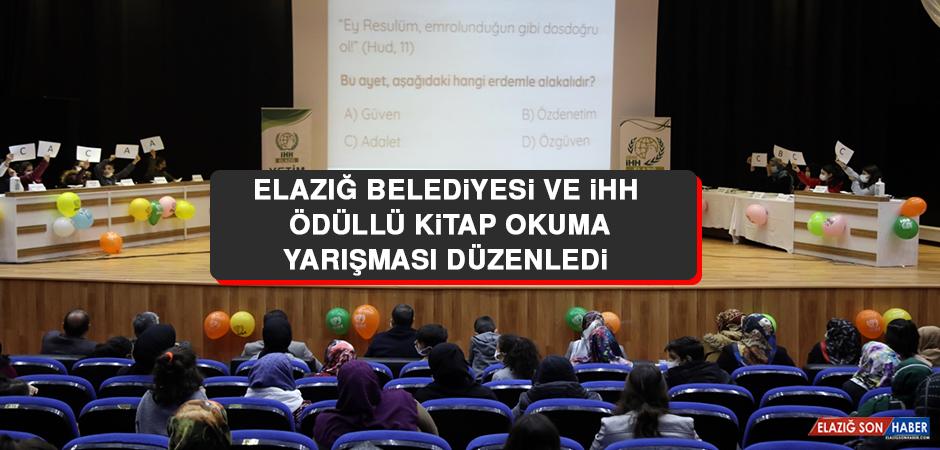 Elazığ Belediyesi ve İHH Ödüllü Kitap Okuma Yarışması Düzenledi