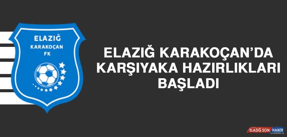 Elazığ Karakoçan'da Karşıyaka Hazırlıkları Başladı