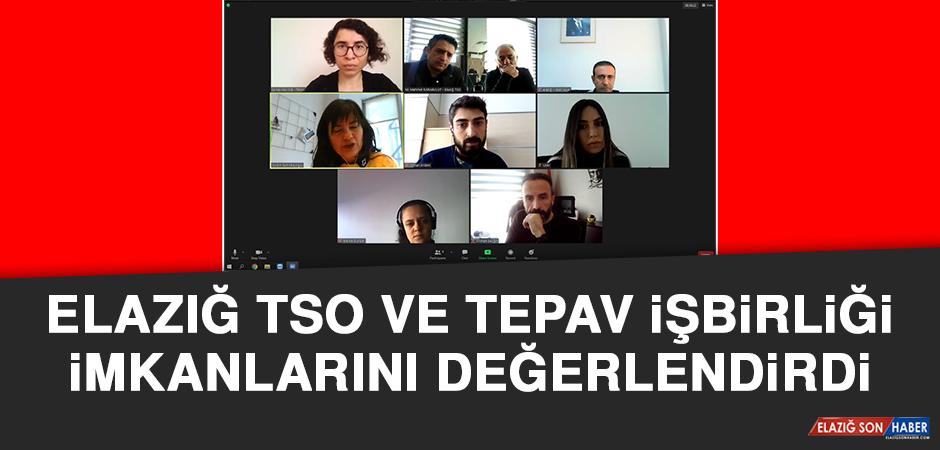 Elazığ TSO ve TEPAV İşbirliği İmkanlarını Değerlendirdi