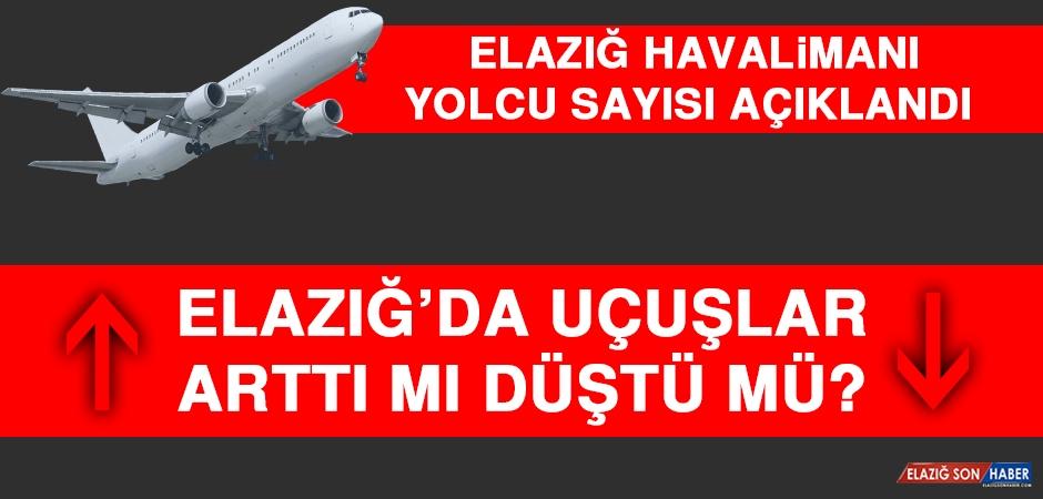 Elazığ'da Uçuşlar Düştü mü Arttı mı?