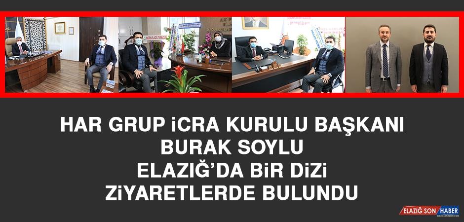 Har Grup İcra Kurulu Başkanı Soylu Elazığ'da Ziyaretlerde Bulundu