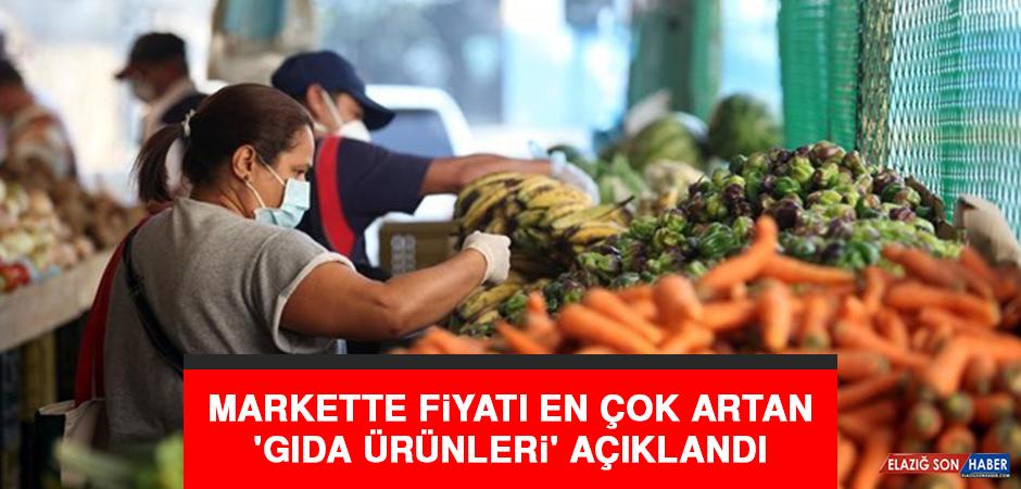 Markette Fiyatı En Çok Artan 'Gıda Ürünleri' Açıklandı