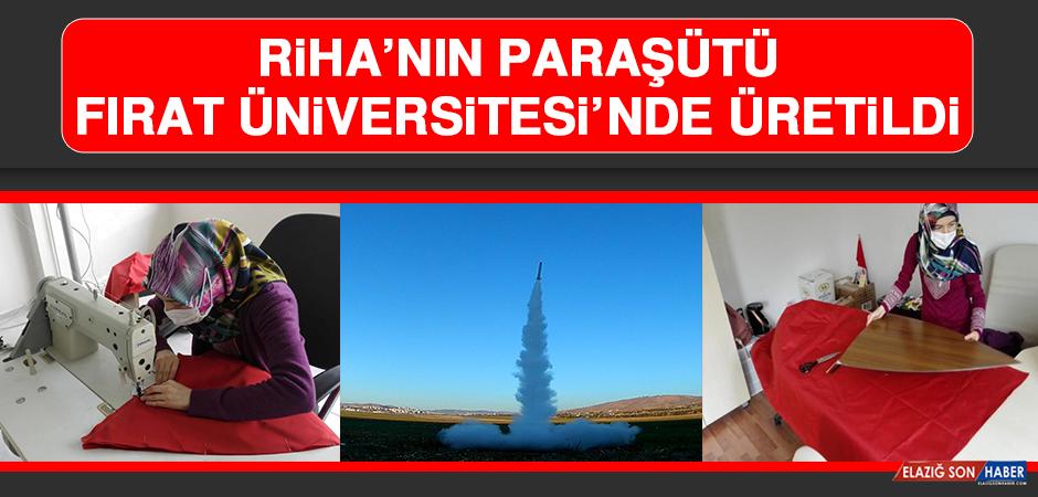 RİHA'nın Paraşütü Fırat Üniversitesi'nde Üretildi