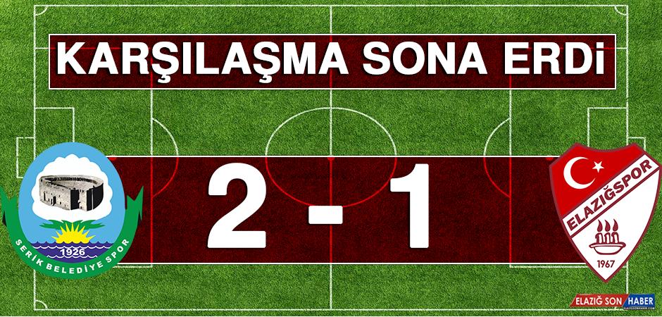 Serik Belediyespor 2 -1 Tetiş Yapı Elazığspor