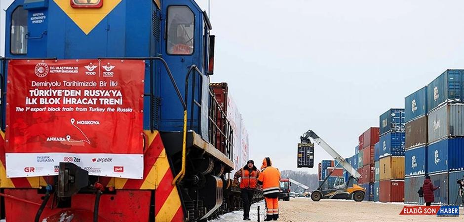 Türkiye ile Rusya Arasındaki Ticarete Demir Yolu Taşımacılığı Desteği