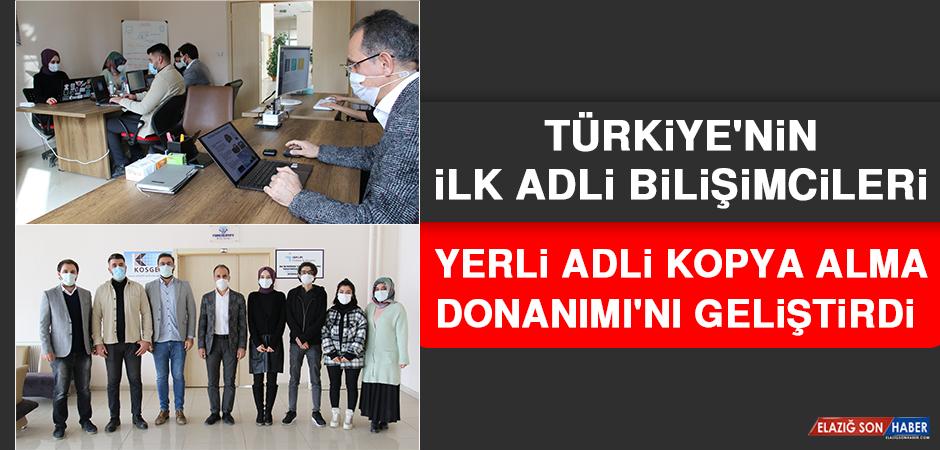 Türkiye'nin İlk Adli Bilişimcileri, Yerli Adli Kopya Alma Donanımı'nı Geliştirdi