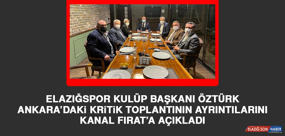 Ankara'daki Kritik Toplantıda Elazığspor İçin Hangi Kararlar Alındı?
