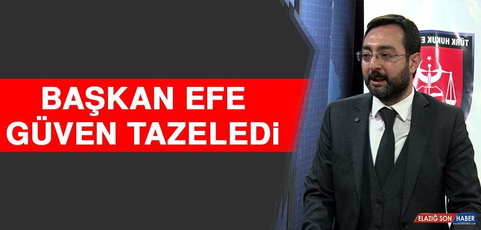 Başkan Efe Güven Tazeledi