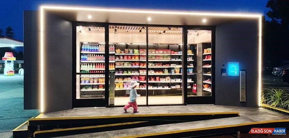 Dünyanın En Büyük Kasiyersiz Marketi Çin'de Açıldı