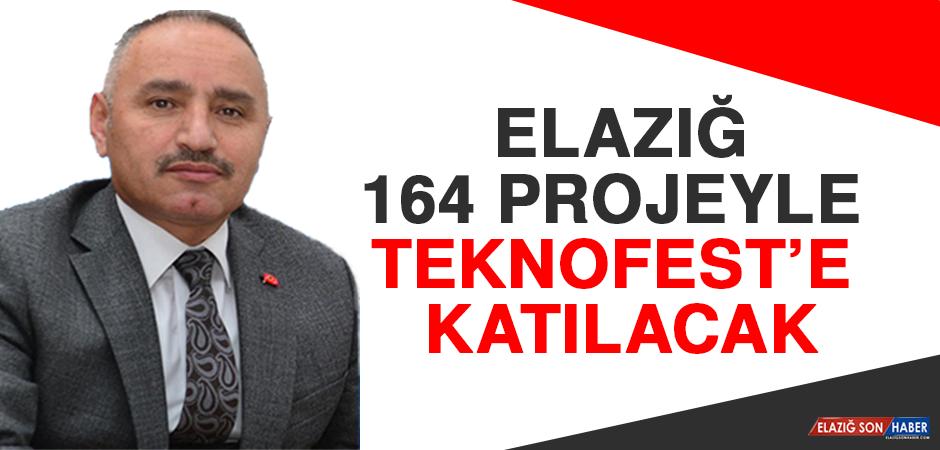 Elazığ 164 Projeyle Teknofest'e Katılacak