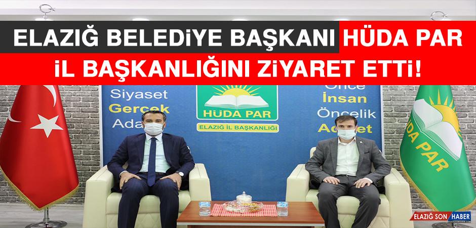 Elazığ Belediye Başkanı HÜDA PAR Elazığ İl Başkanlığını Ziyaret Etti