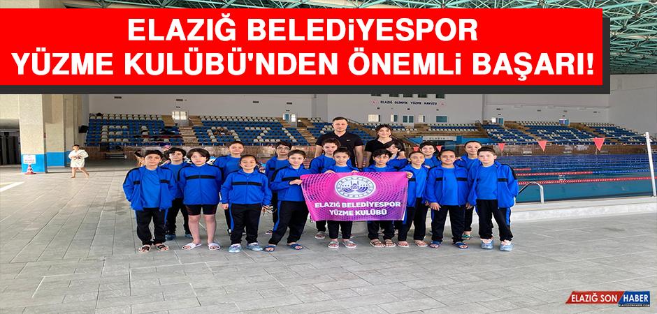 Elazığ Belediyespor Yüzme Kulübü'nden Önemli Başarı