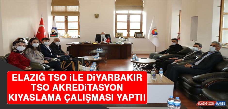 Elazığ TSO ile Diyarbakır TSO Akreditasyon Kıyaslama Çalışması Yaptı