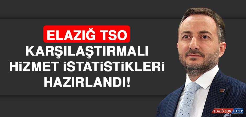 Elazığ TSO Karşılaştırmalı Hizmet İstatistikleri Hazırlandı