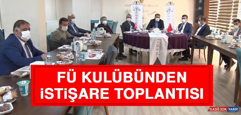 FÜ Kulübünden İstişare Toplantısı