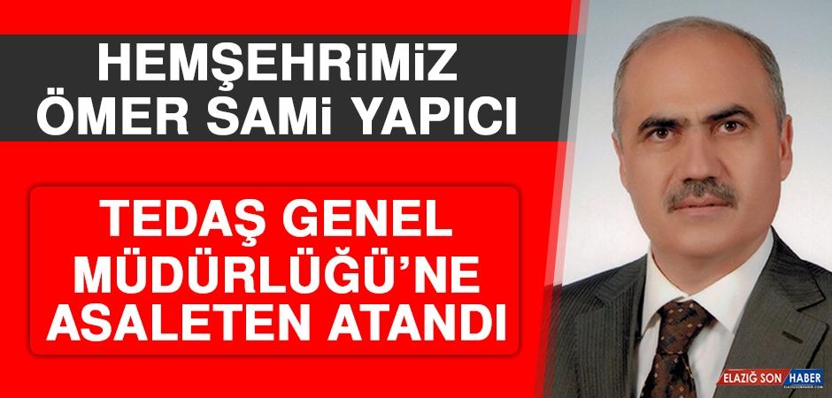 Hemşehrimiz Yapıcı TEDAŞ Genel Müdürlüğü'ne Asaleten Atandı
