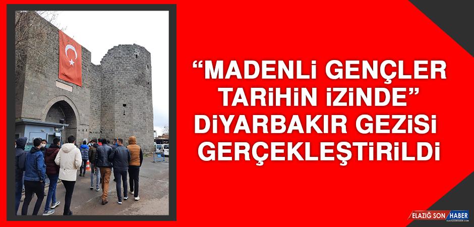"""""""Madenli Gençler Tarihin İzinde"""" Diyarbakır Gezisi Gerçekleştirdi"""