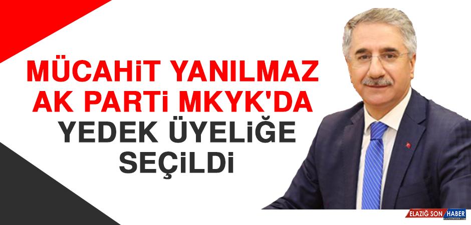 Mücahit Yanılmaz AK Parti MKYK'da Yedek Üyeliğe Seçildi