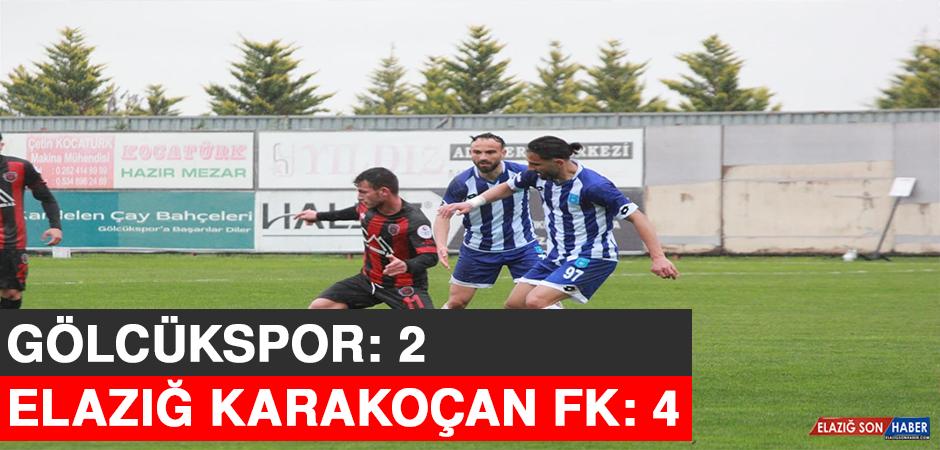 3. Lig: Gölcükspor: 2 – Elazığ Karakoçan FK: 4