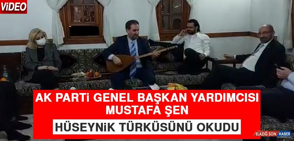 AK Parti Genel Başkan Yardımcısı Şen, Hüseynik Türküsünü Okudu