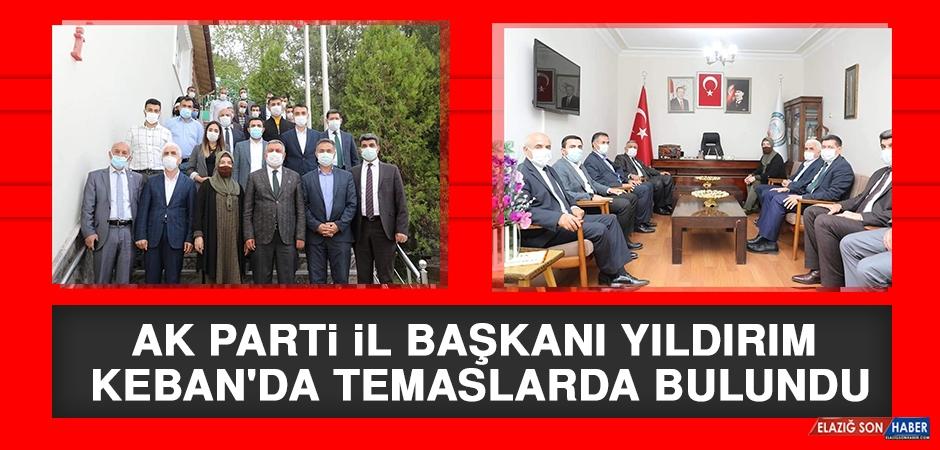 AK Parti İl Başkanı Yıldırım Keban'da Temaslarda Bulundu
