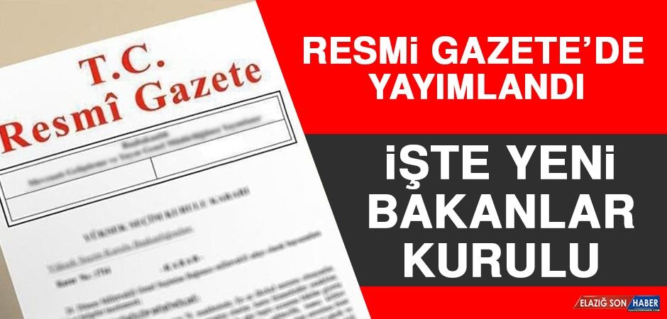 BAKANLAR DEĞİŞTİ!