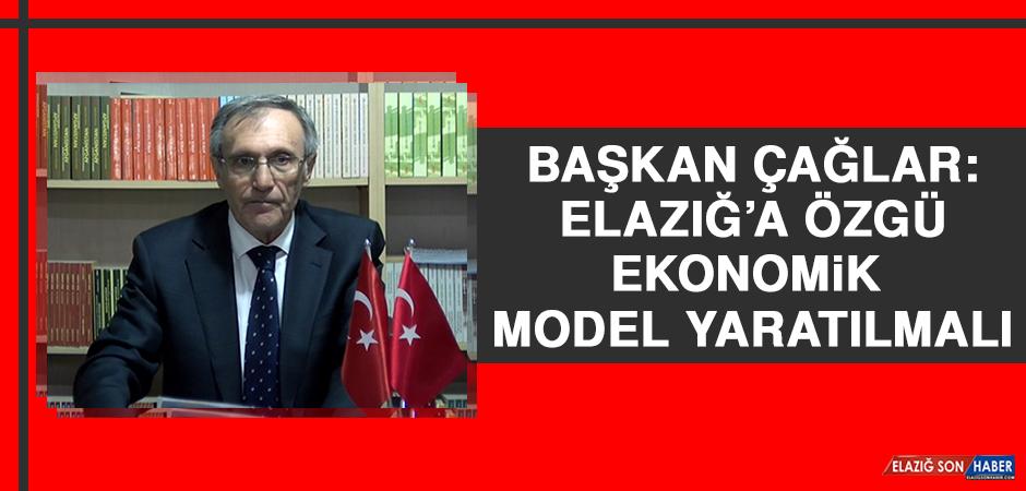 Başkan Çağlar: Elazığ'a Özgü Ekonomik Bir Model Yaratılmalı