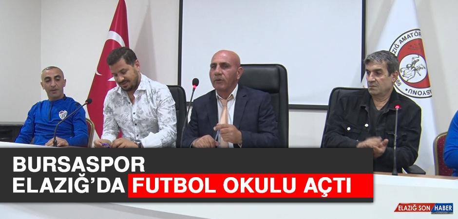 Bursaspor, Elazığ'da Futbol Okulu Açtı