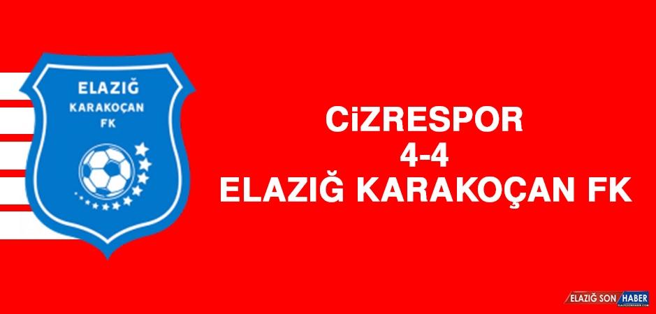 Cizrespor 4-4 Elazığ Karakoçan FK
