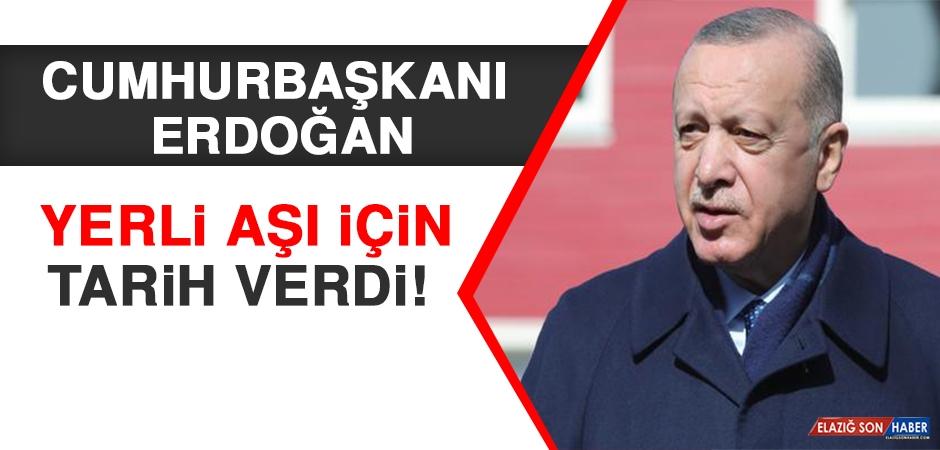Cumhurbaşkanı Erdoğan Yerli Aşı İçin Tarih Verdi!