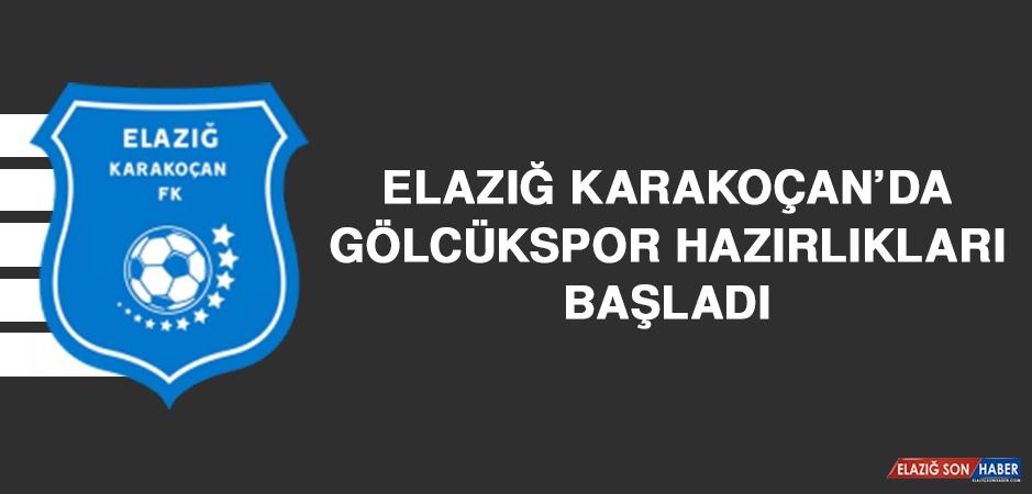 Elazığ Karakoçan'da Gölcükspor Hazırlıkları Başladı