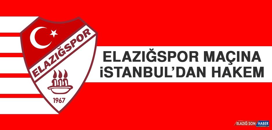 Elazığspor Maçına İstanbul'dan Hakem