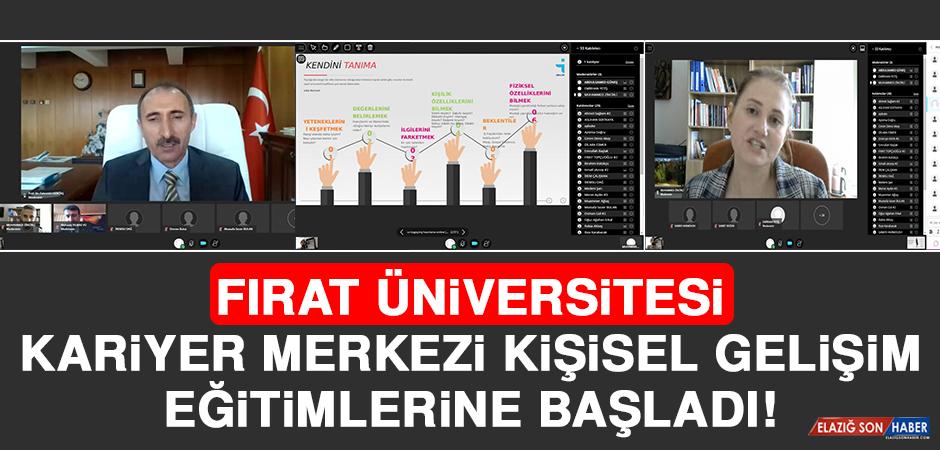 Fırat Üniversitesi Kariyer Merkezi Kişisel Gelişim Eğitimlerine Başladı