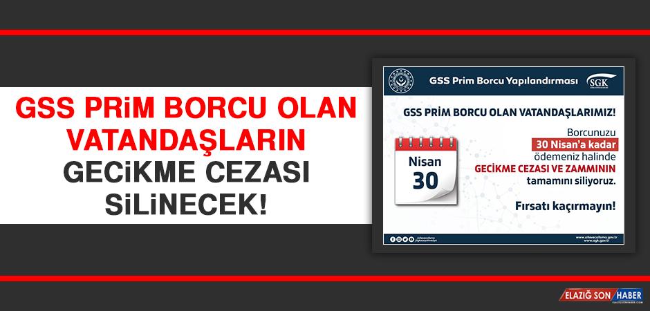 GSS Prim Borcu Olan Vatandaşların Gecikme Cezası Silinecek