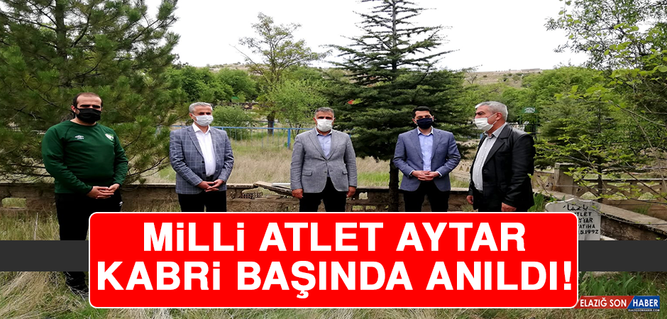 Milli Atlet Aytar Kabri Başında Anıldı!
